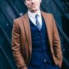 Эндрю побывал на показе британского модельера Ричарда Джеймса