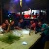 По своему возвращению из Акапулько Сурия встретилась со своими друзьями. Вчерашний вечер актриса со своим любимым провели в их компании в одном из баров Мехико.