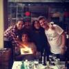 """Фото с празднования дня рождения Альберто. В описании третьего фото он назвал Зурию """"любовью всей своей жизни""""."""