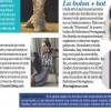 Cкан неизвесного журнала, на котором мы можем полюбоваться новым снимком Химены для BCBGMAXAZRIA.