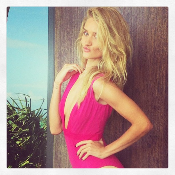 Rosie huntington instagram