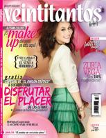 Очаровательная Зурия в журнале «Veintitanto»