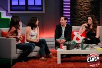 Зури на шоу «Está Cañón»