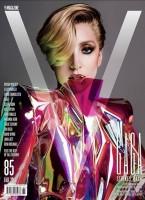 Четыре обложки для журнала «V».