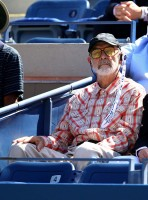 Шон Коннери. Шон Коннери посетил матч теннисного турнира US Open.