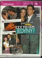 Скан польского журнала «Świat Seriali». Статья посвящена помолвке Сурии и Альберто.