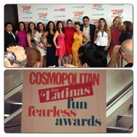 Michelle Rodriguez at Latinas Fun Fearless Awards