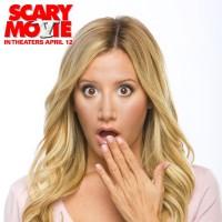 """Новое промо-фото Эшли для фильма """"Очень страшное кино 5""""."""