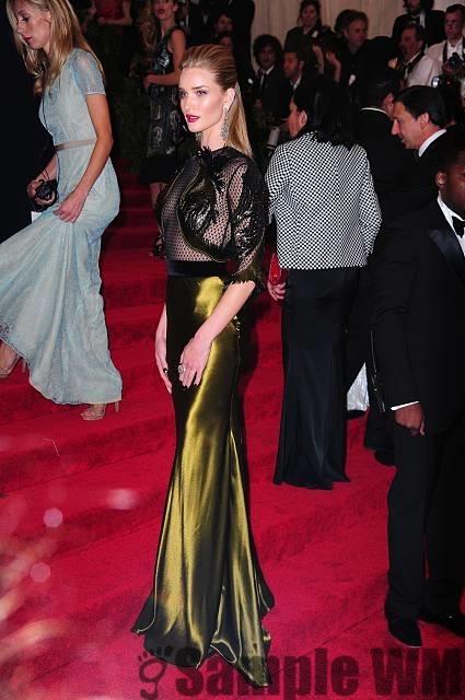 Роузи Хантингтон-Уайтли. Фотографии с мероприятия Met Ball 2013