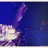 Джессика Бил. Фото,которые Джессика сделала на концерте Джастина в Нью-Йорке: