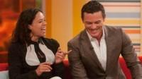 Michelle Rodriguez & Luke Evans at DayBreak