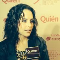 Зурия на «Rosa contra el cancer»