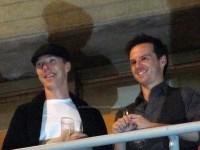 Шерлок и Мориарти появились на юбилее Национального театра