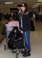 Недавно Миранда была замечена в аэропорту Лос-Анджелеса
