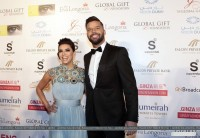 14 декабря 2013 - Ева Лонгория на ужине GLOBAL GIFT GALA, Дубаи