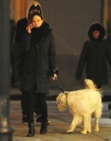 Оливия на прогулке по улицам Нью-Йорка