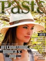 Оливия на обложке специального выпуска онлайн-журнала Paste