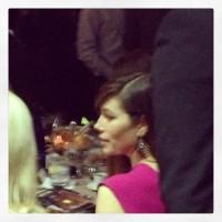 Джессика Бил. Джастин и Джессика на вечеринке в Каннах ( 15 мая 2013):