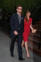 Джессика Бил. Джастин и Джессика направляются на мероприятие Robin Hood:(1)