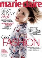 """Шикарная фотосессия Рэйчел для журнала """"Marie Claire"""" (US, Июнь 2015)."""