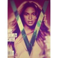 Бейонсе украсила обложку журнала 'V'
