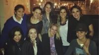 Сурия, Маримар и их друзья встретились и провели вместе вечер. Фото из Instagram'а и Twitter'а.