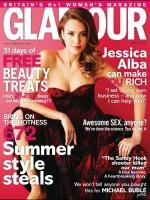 Джессика на страницах журнала Glamour UK - май, 2013