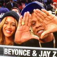 Бейонсе Ноулз. #Jayonce на баскетбольной игре «NBA All Star»