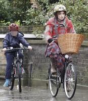 Фото с велопрогулки по дождливому Лондону