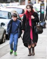 Хелена Бонэм Картер. Хелена прогуливается с Билли по Лондону