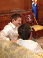 Meeting with President Aquino