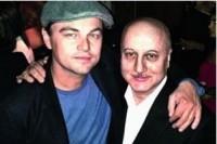 Лео ДиКаприо на предоскаровской вечеринке в Голливуде.