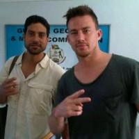 Ченнинг и Адам Родригес в Гайане.