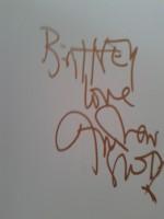 Дождь из автографов