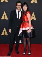 """Зоуи Дешанель. Зоуи и Джейкоб посетили """"Governors Awards 2015""""."""