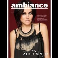 Cурия Вега. Сурия на обложке журнала «Ambiance». На фото - новый снимок из фотосессии Оскара Понсе.