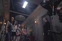 Фото со съемок фильма «Темнее ночи».