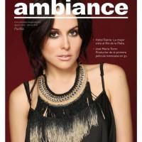 Сурия на обложке журнала «Ambiance». На фото - новый снимок из фотосессии Оскара Понсе.