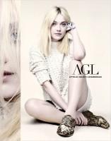 Дакота Фаннинг – новое лицо обувного бренда AGL.