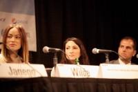 Оливия Уайлд. Пресс-конференция «New Grass Roots: Digital Age Movie Marketing Panel» прошедшая  в рамках кинофестиваля «SXSW»