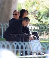 "Шон Бин. Актер Шон Бин на съемках ТВ-сериала ""Легенды"" в центре Лос-Анджелеса"
