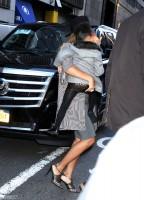 Бейонсе Ноулз. Бейонсе и Блу прибыли на премьеру фильма «Annie» в Нью-Йорке