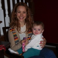 Рэйчел с ребенком