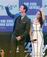 Michelle Rodriguez at World Premiere Fast 6 in Korea