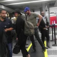 Дженнифер и Хью Джекман замечены в аэропорту