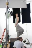 Съемки рекламного ролика Calvin Klein