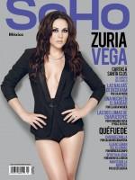 Шикарная Зурия украсила обложку декабрьского номера мужского журнала «SoHo».