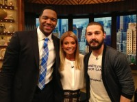 "Шайа на шоу  ""Live with Kelly and Michael"""