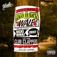 "Обложка для сингла Wale ""Clappers"" совместно с Nicki Minaj & Juicy J."