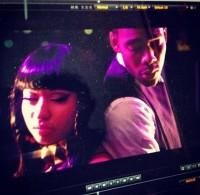 "Кадр из предстоящего клипа ""Somebody Else""."